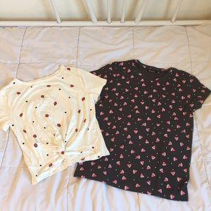 2 NWOT t shirts